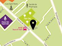 Carte Nancy crèche La Souris Verte