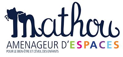 Logo Mathou agencement d'espace pour petits enfants
