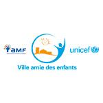 Logo AMF UNICEF ville amie des enfants